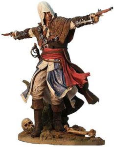 Figura de Edward Kenway de Assassin's Creed Black Flag de Ubisoft - Figuras coleccionables de Assassin's Creed