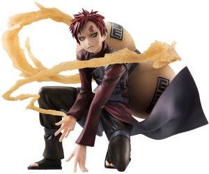 Figura de Gaara de Naruto de Megahouse - Figuras coleccionables de Gaara