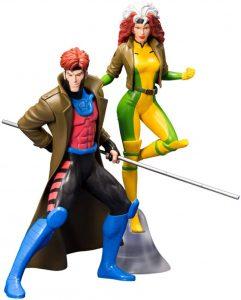 Figura de Gambito y Rogue de los X-Men de Kotobukiya - Figuras coleccionables de Gambito - Gambit