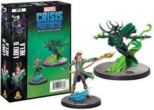 Figura de Hela y Loki de Thor de Amode Marvel - Figuras coleccionables de Hela