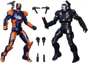 Figura de Ironman y Máquina de Guerra de Marvel Legends Series - Figuras coleccionables de War Machine - Muñecos de Máquina de Guerra