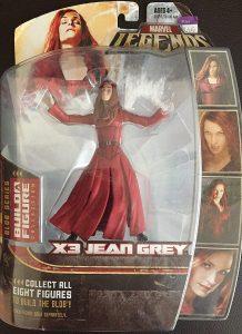 Figura de Jean Grey de los X-Men de Marvel Legends X-Men 3 - Figuras coleccionables de Jean Grey