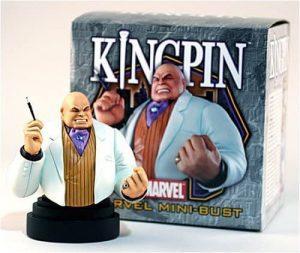 Figura de Kingpin de Busto de Bowen Designs - Figuras coleccionables de Kingpin - Wilson Fisk