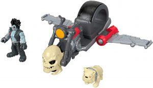 Figura de Lobo de Imaginext DC Super Friends - Figuras coleccionables de Lobo