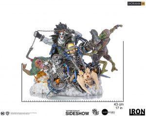 Figura de Lobo de Iron Studios - Figuras coleccionables de Lobo