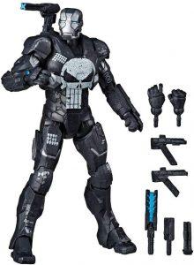Figura de Máquina de Guerra Punisher de Marvel Legends Series - Figuras coleccionables de War Machine - Muñecos de Máquina de Guerra