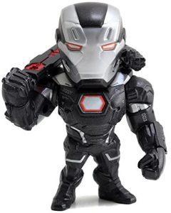 Figura de Máquina de Guerra de Jada Metals - Figuras coleccionables de War Machine - Muñecos de Máquina de Guerra
