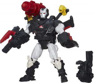 Figura de Máquina de Guerra de Marvel Super Hero Mashers - Figuras coleccionables de War Machine - Muñecos de Máquina de Guerra