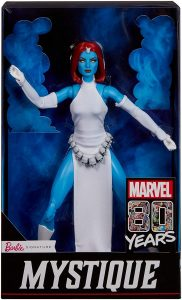 Figura de Mística de los X-Men de Barbie Collector - Figuras coleccionables de Mística - Mystique