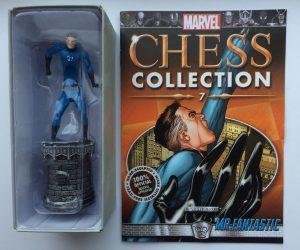 Figura de Mister Fantástico - Reed Richards de Eaglemoss - Figuras coleccionables de los 4 fantásticos - Figuras coleccionables de Fantastic 4
