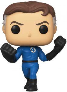 Figura de Mister Fantástico - Reed Richards de FUNKO POP - Figuras coleccionables de los 4 fantásticos - Figuras coleccionables de Fantastic 4