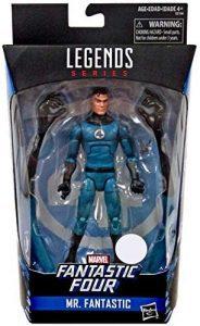 Figura de Mister Fantástico - Reed Richards de Marvel Legends Series de Hasbro - Figuras coleccionables de los 4 fantásticos - Figuras coleccionables de Fantastic 4