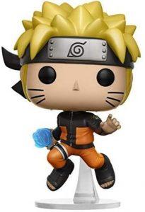 Figura de Naruto Uzumaki saltando de Naruto de FUNKO - Figuras coleccionables de Naruto Uzumaki