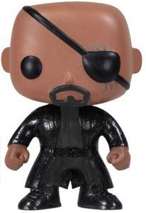 Figura de Nick Furia - Nick Fury de FUNKO POP clásico - Figuras coleccionables de Nick Furia
