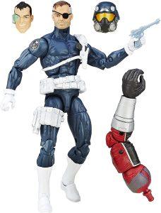 Figura de Nick Furia - Nick Fury de Marvel Legends Series - Figuras coleccionables de Nick Furia