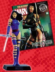 Figura de Psylocke de los X-Men de Eaglemoss - Figuras coleccionables de Psylocke