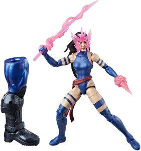 Figura de Psylocke de los X-Men de Hasbro Marvel Legends - Figuras coleccionables de Psylocke