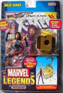 Figura de Psylocke de los X-Men de Marvel Legends - Figuras coleccionables de Psylocke
