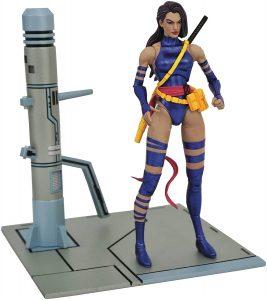 Figura de Psylocke de los X-Men de Marvel Select - Figuras coleccionables de Psylocke