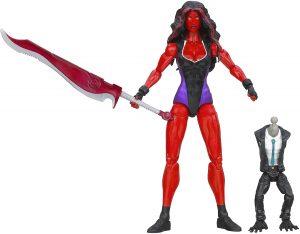 Figura de Red She Hulk de MARVEL LEGENDS - Figuras coleccionables de She-Hulk - Hulka