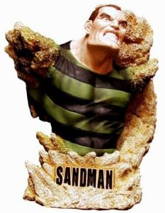 Figura de Sandman Busto de Rogues Gallery - Figuras coleccionables de Sandman