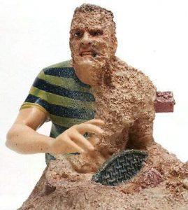 Figura de Sandman Busto de Sideshow de Spiderman 3 - Figuras coleccionables de Sandman