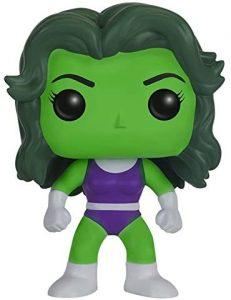 Figura de She Hulk de FUNKO POP - Figuras coleccionables de She-Hulk - Hulka