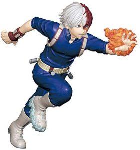 Figura de Shoto Todoroki de My Hero Academia de Banpresto Run - Figuras coleccionables de Shoto Todoroki