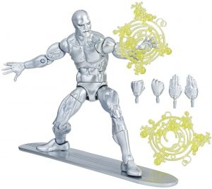 Figura de Silver Surfer de Marvel Legends Series - Figuras coleccionables de Silver Surfer