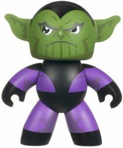 Figura de Skrull de Mighty Muggs - Figuras coleccionables de Skrull
