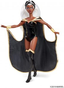 Figura de Storm - Tormenta de los X-Men de Barbie Collector de Mattel - Figuras coleccionables de Storm