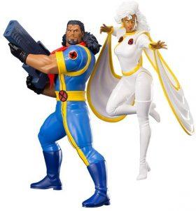 Figura de Storm - Tormenta y Bishop de los X-Men de Kotobukiya - Figuras coleccionables de Storm