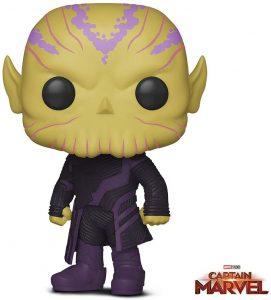 Figura de Talos de Capitana Marvel de FUNKO POP - Figuras coleccionables de Skrull