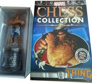 Figura de la Cosa - The Thing de Eaglemoss - Figuras coleccionables de los 4 fantásticos - Figuras coleccionables de Fantastic 4