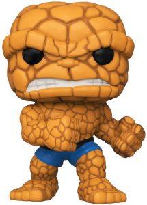 Figura de la Cosa - The Thing de FUNKO POP - Figuras coleccionables de los 4 fantásticos - Figuras coleccionables de Fantastic 4