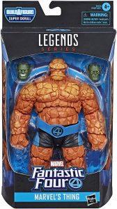 Figura de la Cosa - The Thing de Marvel Legends Series - Figuras coleccionables de los 4 fantásticos - Figuras coleccionables de Fantastic 4