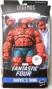 Figura de la Cosa - The Thing de Marvel Legends Series de Hasbro - Figuras coleccionables de los 4 fantásticos - Figuras coleccionables de Fantastic 4