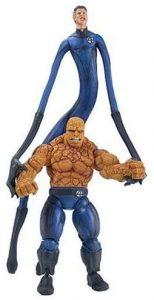 Figura de la Cosa y Reed Richards de Toy Biz - Figuras coleccionables de los 4 fantásticos - Figuras coleccionables de Fantastic 4