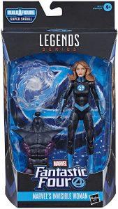 Figura de la Mujer Invisible - The Invisible Woman de Marvel Legends Series - Figuras coleccionables de los 4 fantásticos - Figuras coleccionables de Fantastic 4