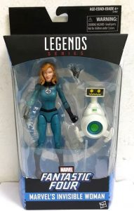 Figura de la Mujer Invisible - The Invisible Woman de Marvel Legends Series de Hasbro - Figuras coleccionables de los 4 fantásticos - Figuras coleccionables de Fantastic 4