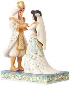 Figura y muñeco de Aladdin y Jasmine de Boda de Enesco - Figuras coleccionables, juguetes y muñecos de Aladdin - Muñecos de Disney