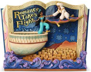 Figura y muñeco de Aladdin y Jasmine de Un Mundo Ideal de Disney Traditions - Figuras coleccionables, juguetes y muñecos de Aladdin - Muñecos de Disney