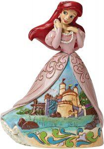 Figura y muñeco de Ariel con vestido con castillo de Disney Traditions - Figuras coleccionables, juguetes y muñecos de la Sirenita - Muñecos de Disney