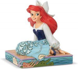 Figura y muñeco de Ariel con vestido de la villa de Disney Traditions - Figuras coleccionables, juguetes y muñecos de la Sirenita - Muñecos de Disney