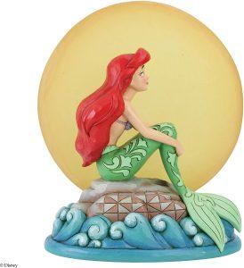 Figura y muñeco de Ariel sentada de Disney Traditions - Figuras coleccionables, juguetes y muñecos de la Sirenita - Muñecos de Disney