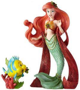 Figura y muñeco de Ariel y Flounder de Disney Showcase - Figuras coleccionables, juguetes y muñecos de la Sirenita - Muñecos de Disney