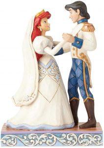 Figura y muñeco de Ariel y el Príncipe Eric de Boda de Disney Traditions - Figuras coleccionables, juguetes y muñecos de la Sirenita - Muñecos de Disney