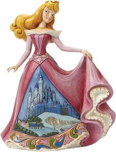 Figura y muñeco de Aurora con vestido de castillo de Enesco Disney Traditions - Figuras coleccionables, juguetes y muñecos de la Bella Durmiente - Muñecos de Disney