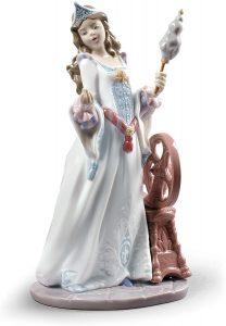 Figura y muñeco de Aurora de Porcelana de Lladró - Figuras coleccionables, juguetes y muñecos de la Bella Durmiente - Muñecos de Disney