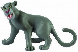 Figura y muñeco de Bagheera de Bullyland - Figuras coleccionables, juguetes y muñecos del Libro de la Selva - Muñecos de Disney